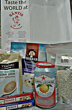 Tummy refills!😋 #gottastartcookingagain #couscous #quinoa #fruitsandnutsoatmeal #sanpellegrino #minor #santisdelicatessen #saturdate