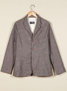 Universal Works Suit Jacket in Fleck Roccia | Universal Works