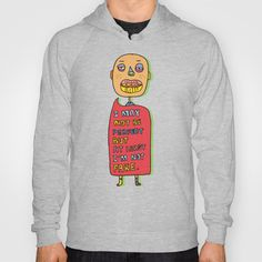 Not perfect  Hoody by PINT GRAPHICS - $38.00