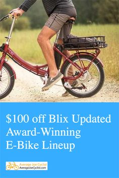 We've got a coupon for you for $100 off a quality e-bike! Blix, one of the fastest growing ebike companies in the USA, has just announced multiple updates across their lineup of city, cruiser, cargo and folding ebikes. Check them out! #ebikes #cycling Electric Commuter Bike, Electric Bike Review, Best Electric Bikes, Folding Electric Bike, Cycling Workout, Cycling Gear, Bike Wagon, Innovative City, Raleigh Bicycle