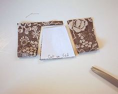 Sewing Tips – 'Cut on the Fold' and 'Fabric Grain' | Make It and Love It