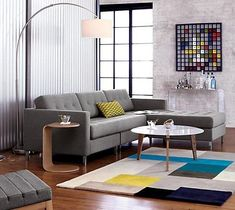 An arc lamp is a perfect solution when you need to add some light over a table or sofa but don't want to suspend a light from the ceiling. From modern to more classic, we've rounded up 10 arc lamps to help you get the look in your home.