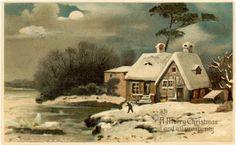 vintage merry christmas paris - Google Search