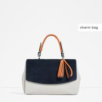CITY BAG WITH CHARM DETAIL