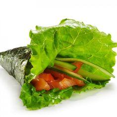 Fast Noritos: Nori Burritos - Healthy 5-Minute Meals from Nutrition Pros - Shape Magazine