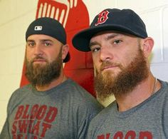 Mike Napoli and Jonny Gomes - Blood Sweat Beards