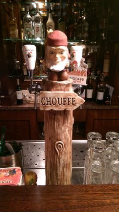 La Chouffe tap