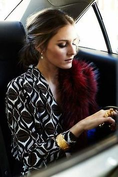 Olivia Palermo - so elegant, but could personally do without the fur