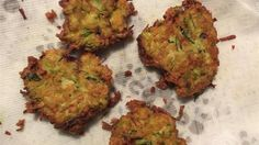 Crispy pan-fried vegetable pancakes make an easy side dish or appetizer. Serve with sour cream.