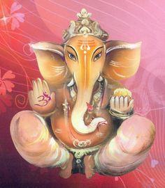 Shri Ganesh! Ganesh straight view