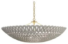 Oly Pipa Bowl Chandelier contemporary chandeliers