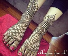 Best Henna Wedding Designs To Achieve Traditional Looks