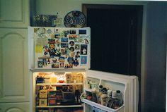 Imagem de food, fridge, and kitchen