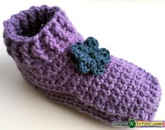 Free Pattern - Non-stop slippers- Child sizes