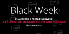 Amostras e Passatempos: Black Week by Spartoo