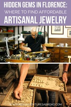 Hidden Treasure In Florence: Handmade Jewelry Worth Searching For | Looking for the perfect souvenir in Florence, Italy? Artisanal and affordable handmade jewelry perfect for any budget.