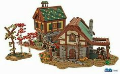 lego medevil village