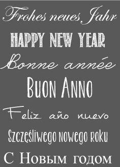 Atelier Elisabetta, Frohes neues Jahr, Happy new Year,...