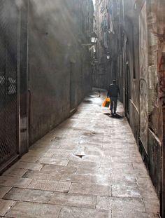STREET OF BARCELONA by JACQUELINE MARIMON, via 500px