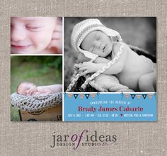 4th of july birth announcements