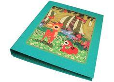 Nostalgisches Din A4 Ringbuch von froy & dind