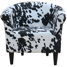 Found it at Joss & Main - Denmark Cowhide Barrel Chair