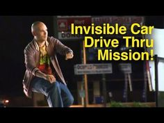 Now that's what I call an INVISIBLE CAR (PRANK):