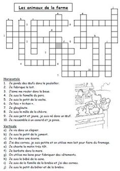 Vocabulaire CE1 - l'école de Lilai French Language Lessons, French Lessons, French Worksheets, French Education, French Classroom, French Resources, Future Jobs, Word Puzzles, Teaching French