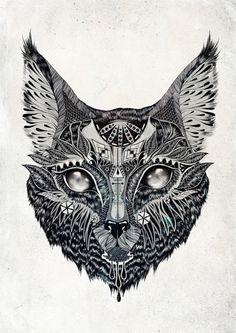 http://society6.com/product/Lynx-IpP_Print/