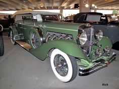 1932 Duesenberg model J Truster