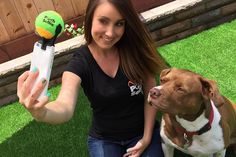 You know what can really up your selfie game? Adding a cute pup to the frame. A dog selfie can be hard to get, though, unless Fido knows where to look. This tennis ball attachment is sure to get his attention and having him looking at the camera for each shot!