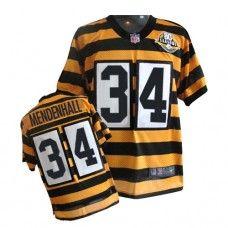 NFL Mens Elite Nike Pittsburgh Steelers http://#34 Rashard Mendenhall 80th Anniversary Throwback Jersey $129.99