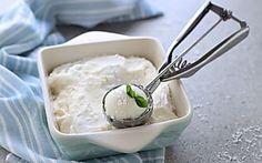 Gelato al cocco senza gelatiera e senza uova fatto in casa, furbissimo!