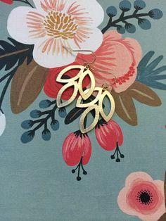 Skyline Trail Earrings by adjewelry on Etsy
