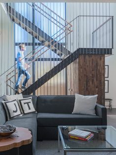 15 Prodigious Industrial Staircase Designs Youll Fall For