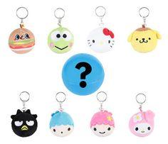 Sanrio characters Blind Box Keyring Capsule: hello sanrio - ONE AT RANDOM