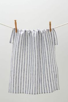 Breton striped dish towel