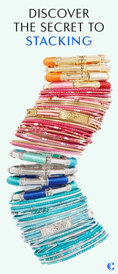 It's not an arm party without Charming Charlie! Discover the secret to stacking with our favorite bracelets, bangles, & baubles. Available in 26 colors. Your search for the perfect, affordable accessories ends here. Plus, get free shipping on orders of $50+ & easy returns. #ccstyle