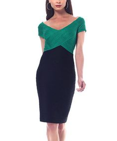 Whether it's a long overdue date night or a special evening on the town, this single piece ensemble will send a fantastically fashionable message. Slip into a great frock for a look that is 100 percent stylish.