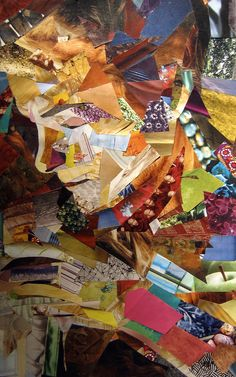 Self Portrait Collage  by ~danalightbourne  Traditional Art / Collage