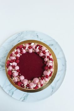 Acai Bowl, Panna Cotta, Cake Decorating, Cooking Recipes, Birthday Cakes, Breakfast, Ethnic Recipes, Drinks, Cakes