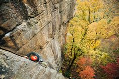 Here comes the Fall. New River Gorge, West Virginia. Photo by Jeremiah Watt.