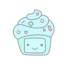 Image via We Heart It https://weheartit.com/entry/142303144 #bmo #cupcakes #fun #gif #overlay #transparent #gateau #swag #overlays