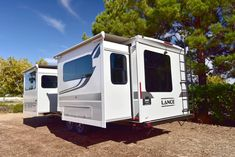 The Lance 2465 Travel Trailer is our largest travel trailer! It comes with two large slides and a massive awning! Travel Trailers, Recreational Vehicles, Rv, Things To Come, Canning, Future, Gallery, Ideas, Camper Trailers