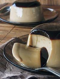 Puding Sutra Coklat Susu Lembut
