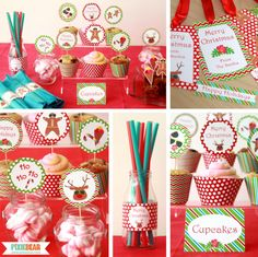 summer christmas party decoration ideas by pixiebear christmas in july party ideas summerparty - Summer Christmas