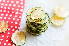 Recipe: Skinny Baked Zucchini Chips