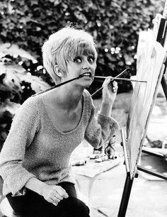 I always admired Marilyn Monroe...but I think I'm more of a Goldie Hawn