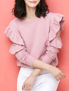 Knit Fashion, Trendy Fashion, Women's Fashion, Fashion Design, Girly, Shirt Blouses, Shirts, Pattern Drafting, People Quotes