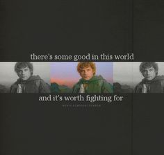 You need to look up the quote from Lord of the Rings by Samwise Gamgee. Or watch the movies so you can here him say it. It's beautiful <3